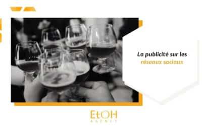 Publicité concernant l'alcool sur les réseaux sociaux